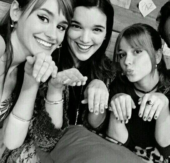 Katja Martínez, Malena Ratner y Ana Jara