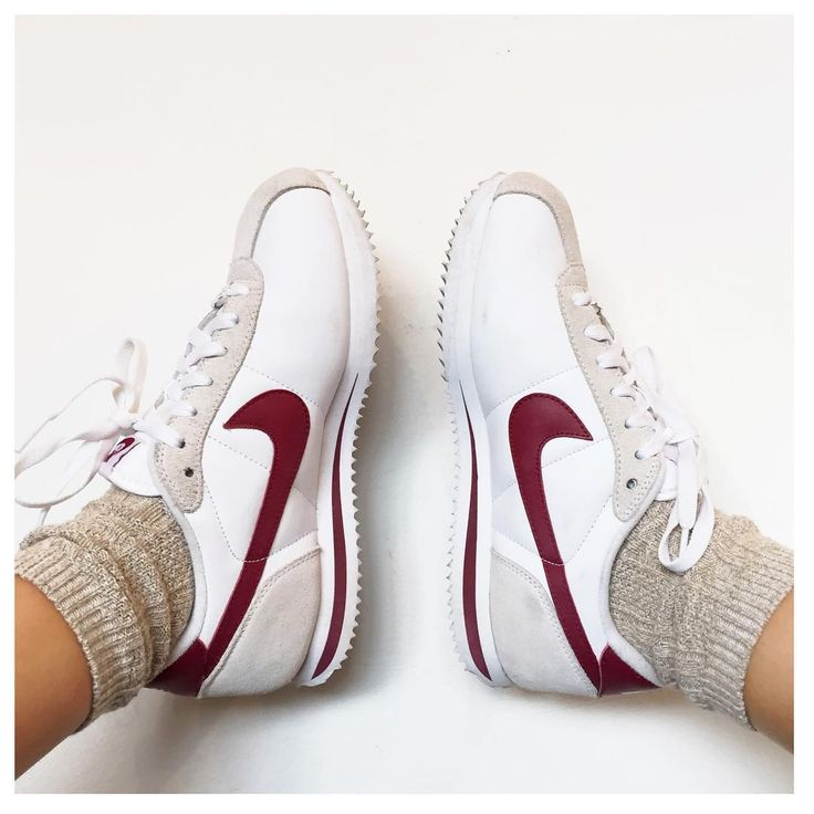 nike cortez and socks #aliciaroddy