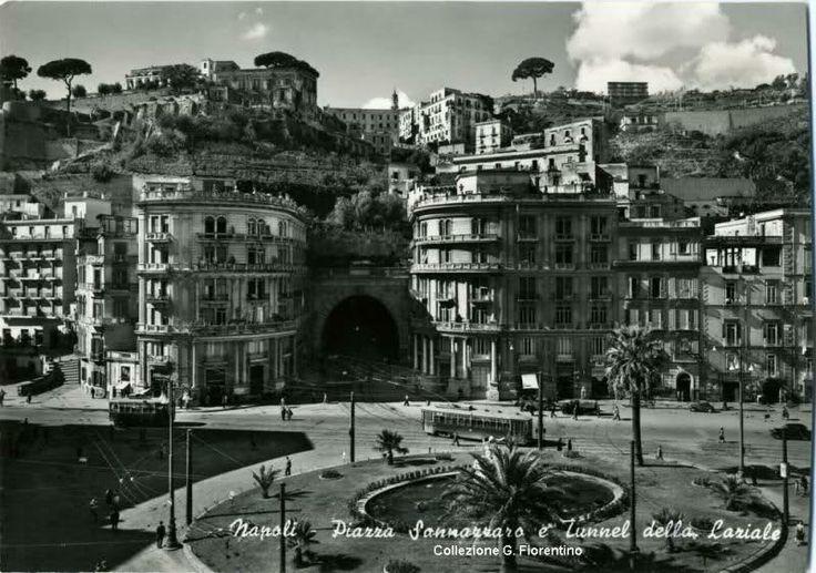 NAPOLI storica - Piazza Sannazaro