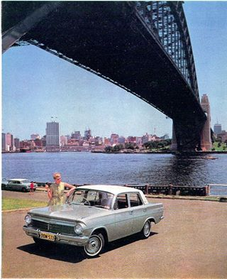 "This picture was taken in 1964 with a ""brand new"" EH Holden - if you want more EH-mania come to http://carworldnetwork.com/eh-holden-car-club-nsw/ and meet more EH holden fans"