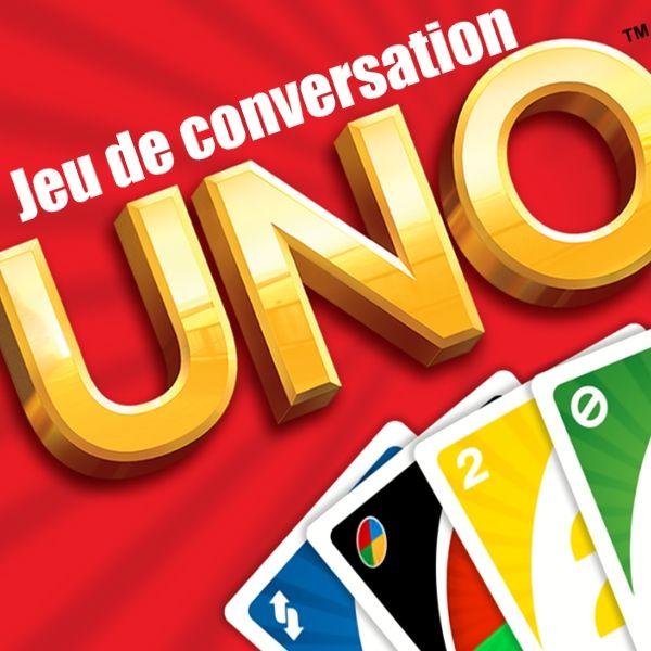 Un petit jeu pour lancer les conversations avec des cartes de Uno