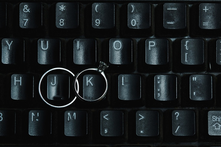 clever ring shot with initial keys