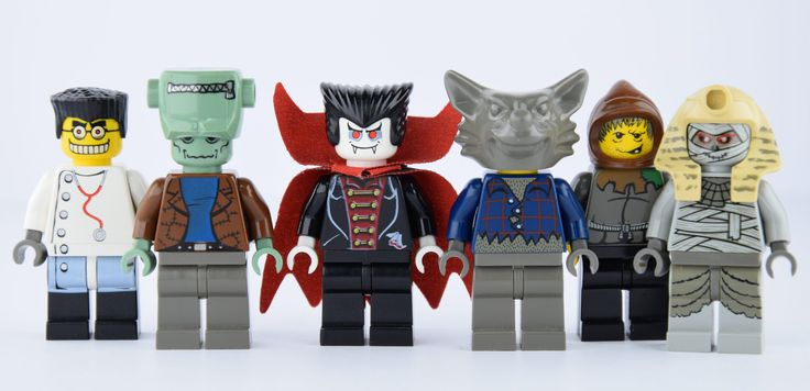 All villains and monsters Lego studios with the very expensive vampire and frankenstein. Original picture by me