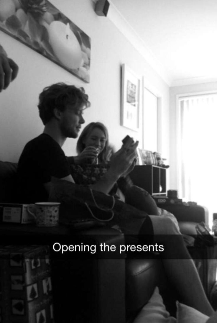 Ashton and Bryana on Lauren's snapchat (laurensnap1) - December 25, 2015