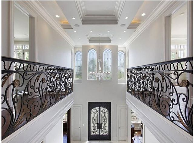 WEBSTA @ divine_design_decor - Omg breathtaking double balconies!🎭 That's Divine! By..{ McKinley Masters Builders } tag someone who likes this📌🎭#food#realestate#cali#foyer#design#wow#bestoftheday#picoftheday#tag#post#night#luxury#stairs#black#inspire#inspo#week#shopping#photo#love#homedesign#famous#post#makeup#interiordesign#stairs#luxury#hi#follow#white