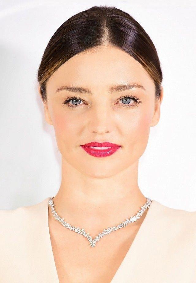 Miranda Kerr nails the pink lip trend | ミランダカー メイク