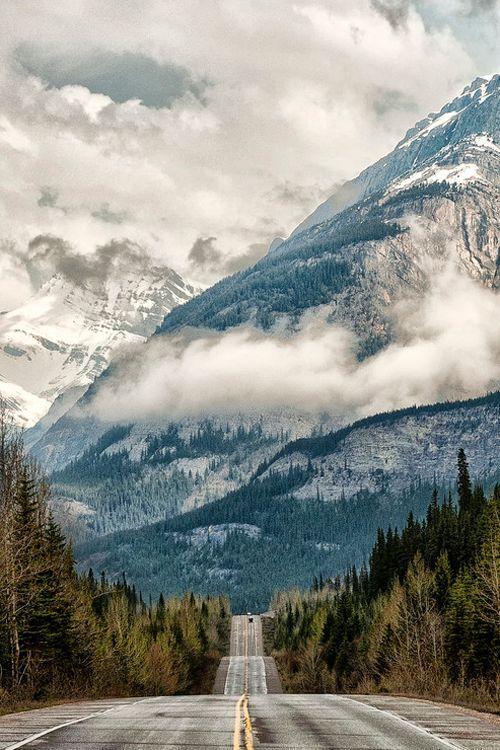 Snow Peaks, Alberta, Canada