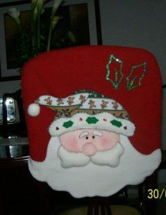 Muñecos Navideños en paño lenci o lency (lenzy, lenzi, lensi, lensy)
