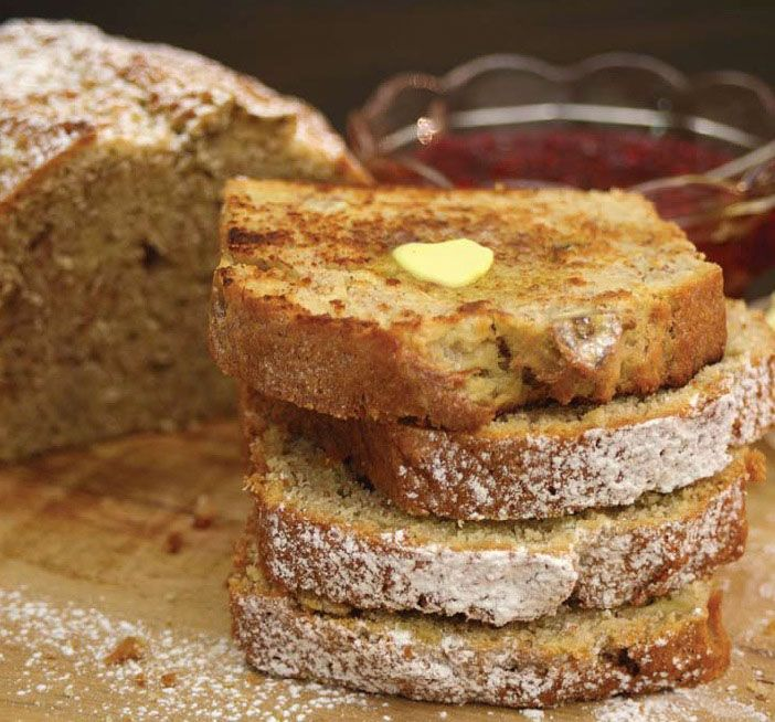 Banana Bread   Vudu Cafe Queenstown