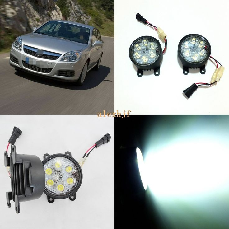 69.99$  Watch now - http://alihn4.worldwells.pw/go.php?t=32760033314 - July King 18W 6LEDs H11 LED Fog Lamp Assembly Case for Opel Vectra C 2005~2008, 6500K 1260LM LED Daytime Running Lights