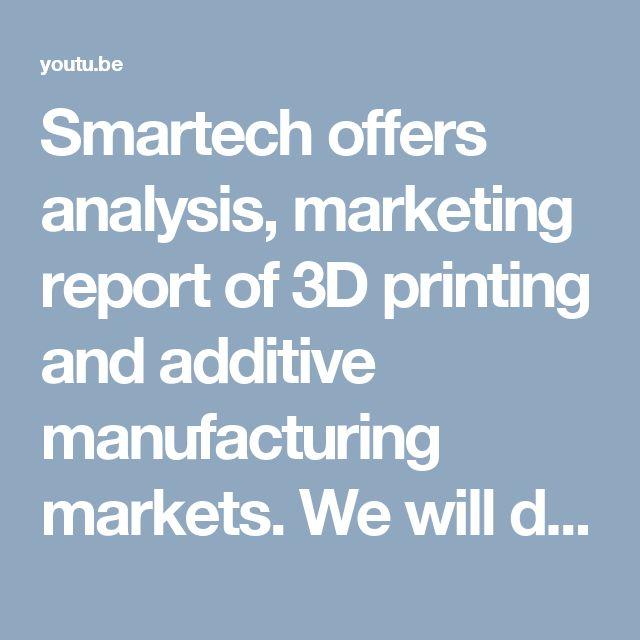 11 best 3d printing market analysis europe images on Pinterest - business analysis report