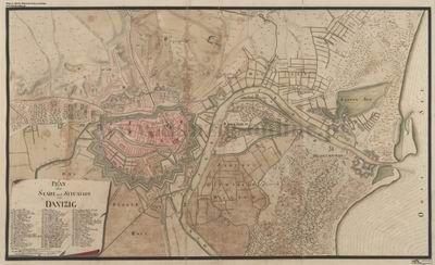 Trójmiasto - Archiwalne Mapy Pomorza Gdańskiego