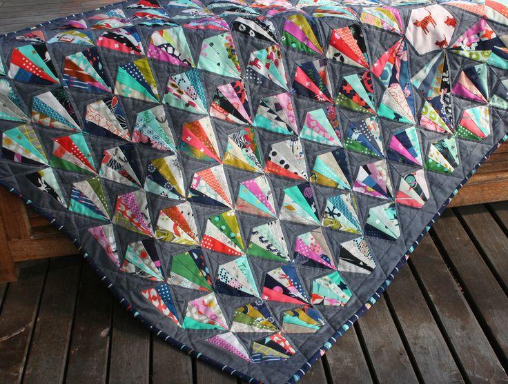 Fans of Cotton + Steel quilt