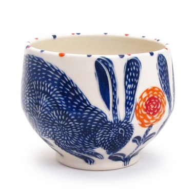 Sue Tirrel, Blue Rabbit Bowl