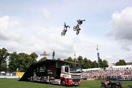 Death-defying team lined up for Bridports Melplash Show