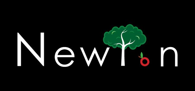 Isaac Newton. | If Famous Physicists Had Logos