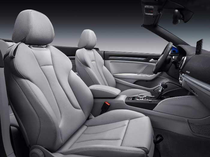 Audi A3 cabriolet  Interor Photo