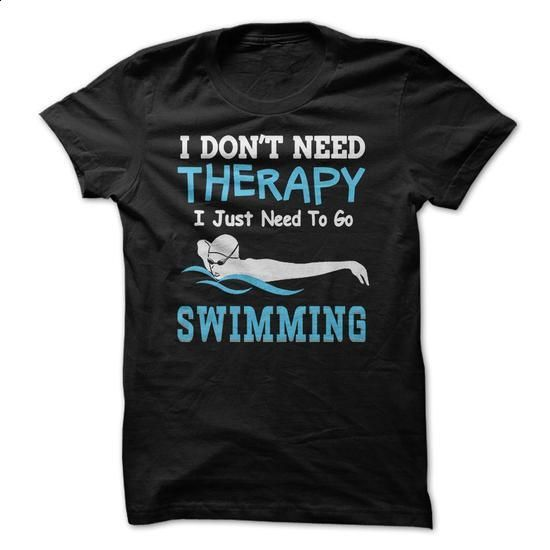 Swimming Therapy - #white shirts #designer hoodies. MORE INFO => https://www.sunfrog.com/Sports/Swimming-Therapy.html?60505