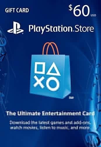 $60 PlayStation Store Gift Card - PS4 / PS3 / PS Vita [Digital Code]