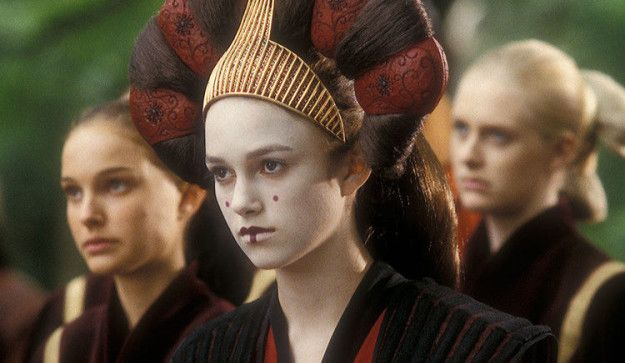 "Keira Knightley was 12 when she played Sabé, Queen Amidala's handmaiden and double. | 40 Facts You Definitely Never Knew About ""Star Wars"""