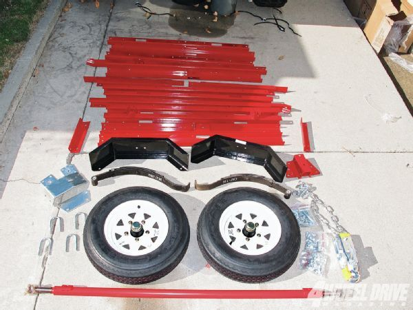 Harbor Freight Haul Master Economical Off-Road Trailer Build - 4 Wheel Drive Magazine