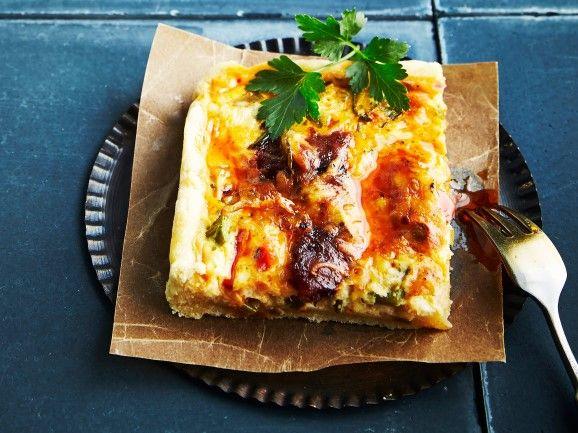 Chorizopiirakka / Chorizo pie / Kotiliesi.fi / Kuva/Photo: Jorma Marstio/Otavamedia