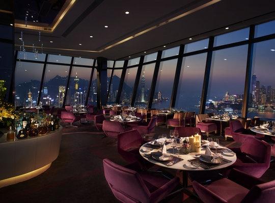 Hong Kong - Habour Grand. Le 188° Restaurant & Lounge