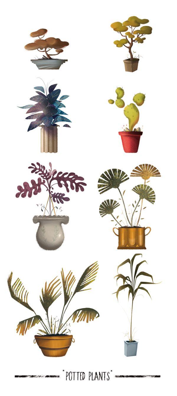Illustrations by Mario García Arévalo Concept art for a video game.