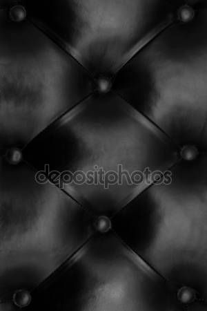 Couro preto acolchoado — Fotografia de Stock #44862713