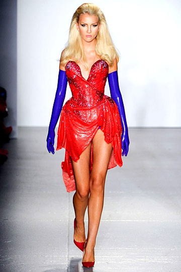 Jessica Rabbit! :D The Blonds, S/S 2012