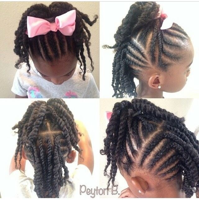 Phenomenal 1000 Images About Natural Hairstyles Children On Pinterest Short Hairstyles For Black Women Fulllsitofus