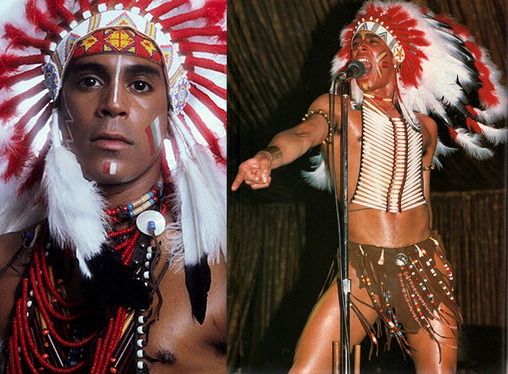 Felipe Rose, Village People Indian — I knew Felipe before the VP when I lived in the Village & he was a dancer at The Anvil.