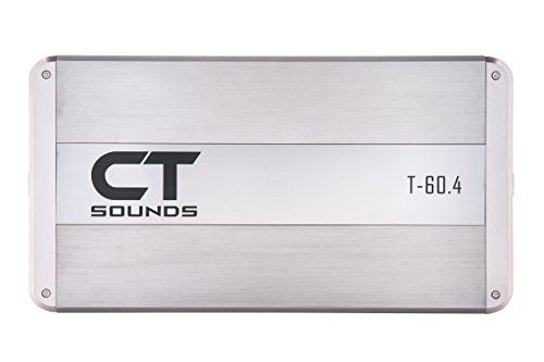 CT Sounds T-60.4 Class AB 4 Channel Car Amplifier 320w RMS Amp http://caraudio.henryhstevens.com/shop/ct-sounds-t-car-audio-amplifiers/?attribute_pa_size=t-60-4 https://images-na.ssl-images-amazon.com/images/I/31AoOXa29GL.jpg