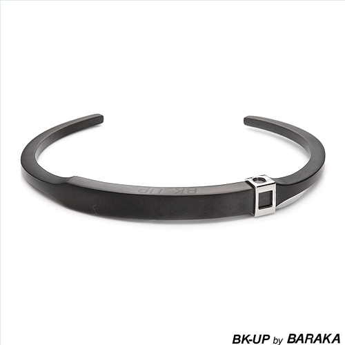 $24.00  BK-UP BY BARAKA Made in Italy Vibrant Brand New Gentlemens Bracelet Beautifully Designed in Stainless steel. Total item weight 25.3g  Length 8in