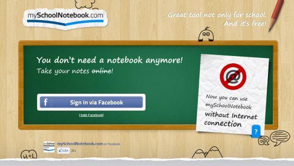 My School Notebook – toma apuntes de clase con tu dispositivo electrónico