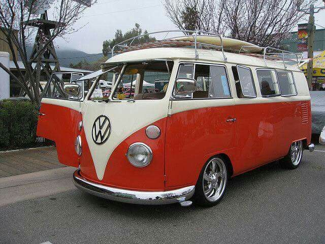 Great looking VW Bus - I wish i never sold my -55