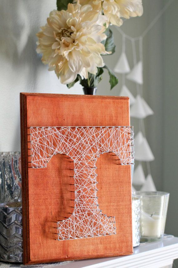 University of Tennessee String Art  Custom by DayNaRichelePhoto, $35.00