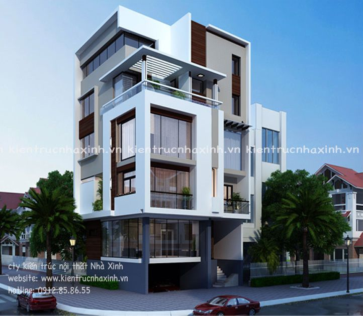 Thiết kế nhà phố ấn tượng của chị Nhung ở Móng Cái
