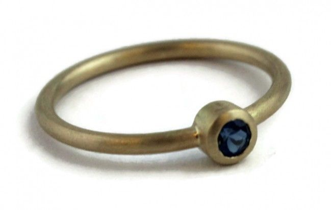 Elisa London Blue Topaz Ring
