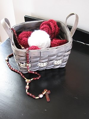 October: Month of the Rosary...Great list of rosary ideas with kids...love the crocheted roses! (Forever, For Always, No Matter What : Catholic Adoption & Home Education Blog)