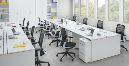 フリーアドレスデスク オフィスデスク TOYOSTEEL Belfino(ベルフィーノ)シリーズ 地域限定送料無料です!タナベ事務機器特価にて販売中です。