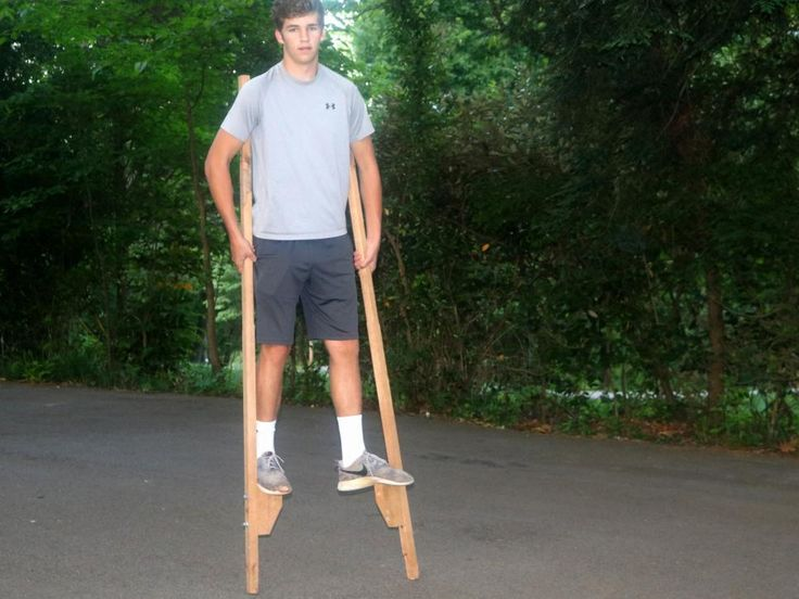How to Make a Pair of Stilts for Your Kids >> http://www.diynetwork.com/how-to/skills-and-know-how/carpentry-and-woodworking/how-to-make-a-pair-of-stilts-pictures?soc=pinterest