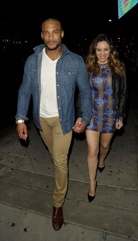 Kelly Brook was 'left in tears' after confronting David about the raunchy video [Wenn]