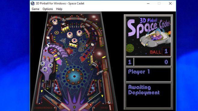 Microsoft 3D Pinball: Spielspaß für flinke Hände©COMPUTER BILD