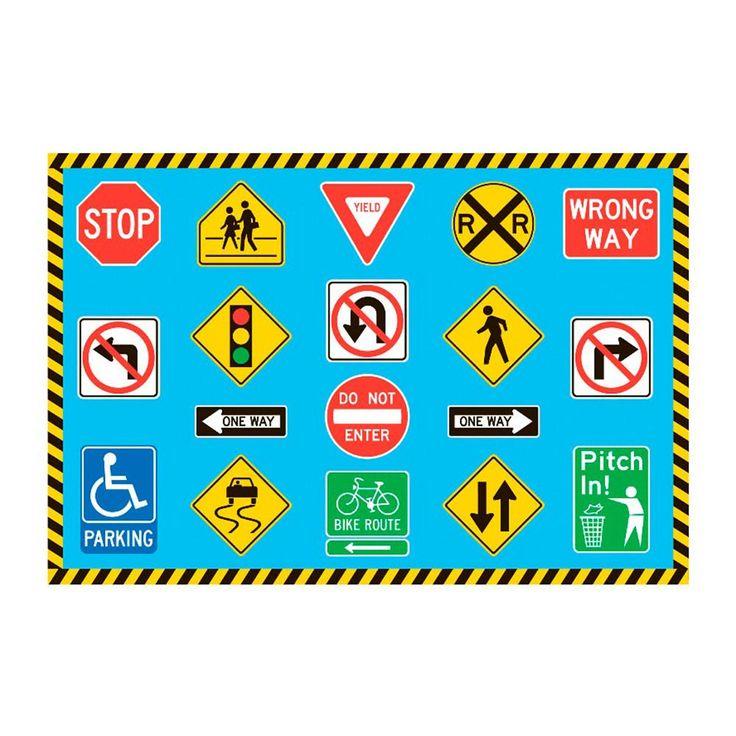 Lakeshore Learning Rug: Best 25+ Traffic Sign Ideas On Pinterest