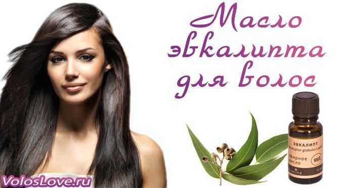 Масло эвкалипта для волос