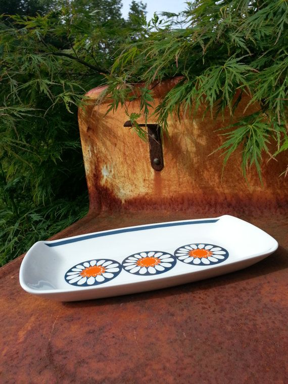 Vintage Figgjo Flint Turi Daisy design Norway by fcollectables, €30.00