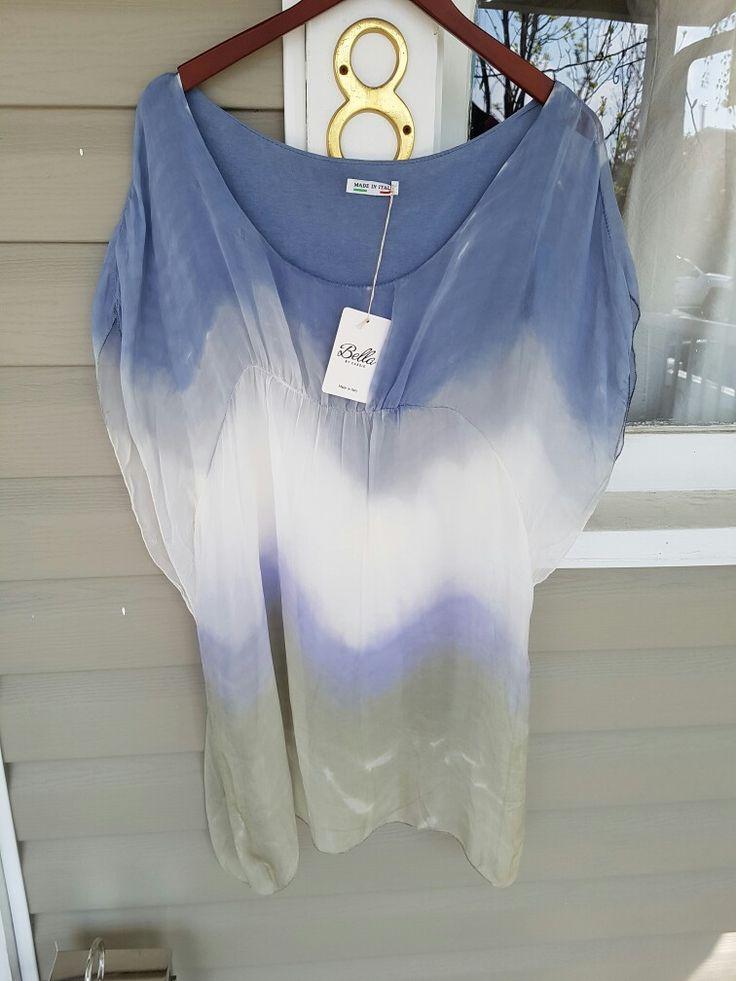 #NewArrivals #BellabyCassie flowing one size top,  #silk #luxury #Okotoks #boutique #style #fashion #ladieswear  www.jazmineharbour.ca