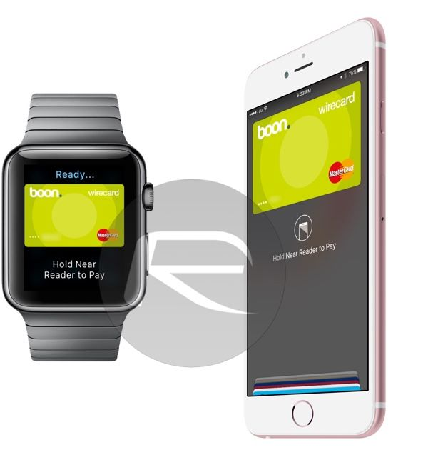 Apple pay con Apple Watch y boon