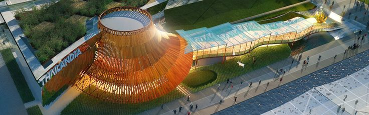 """""""Nourishing and Delighting the World"""" #EXPO2015 #Thailand"""